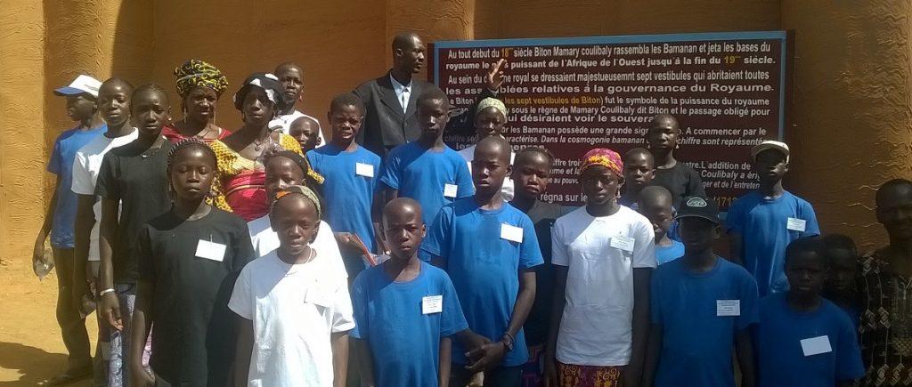 bezoek aan de stad - paleis Segoukoro