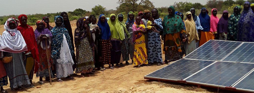 inhuldiging waterput op zonne energie